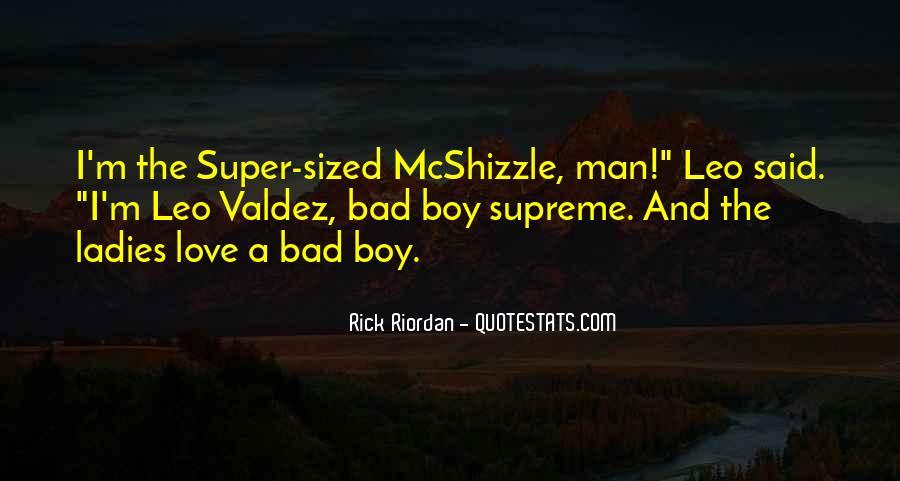 Love Bad Boy Quotes #315631