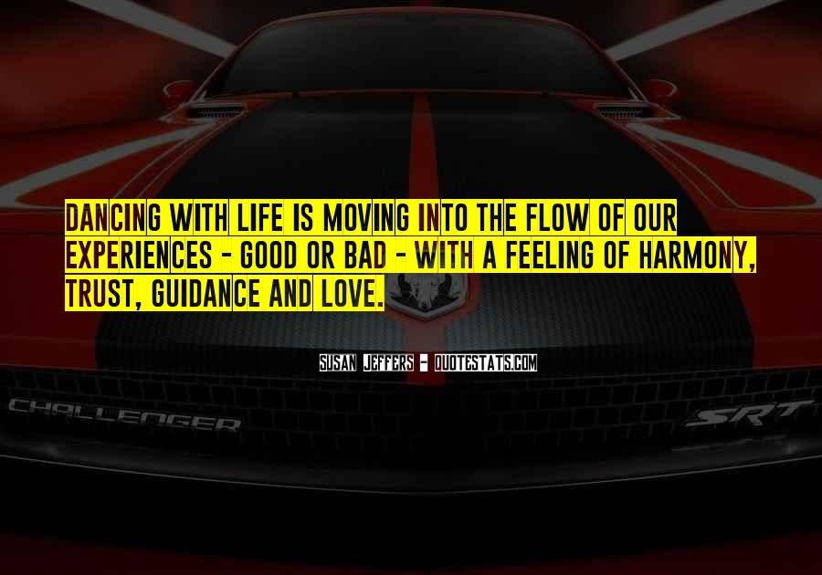 Love Bad Feeling Quotes #1705537