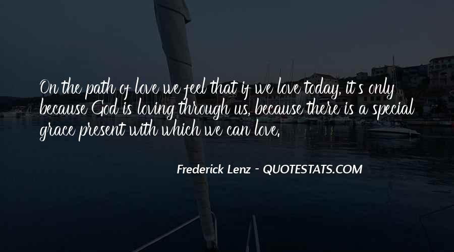 Love Because Quotes #6680