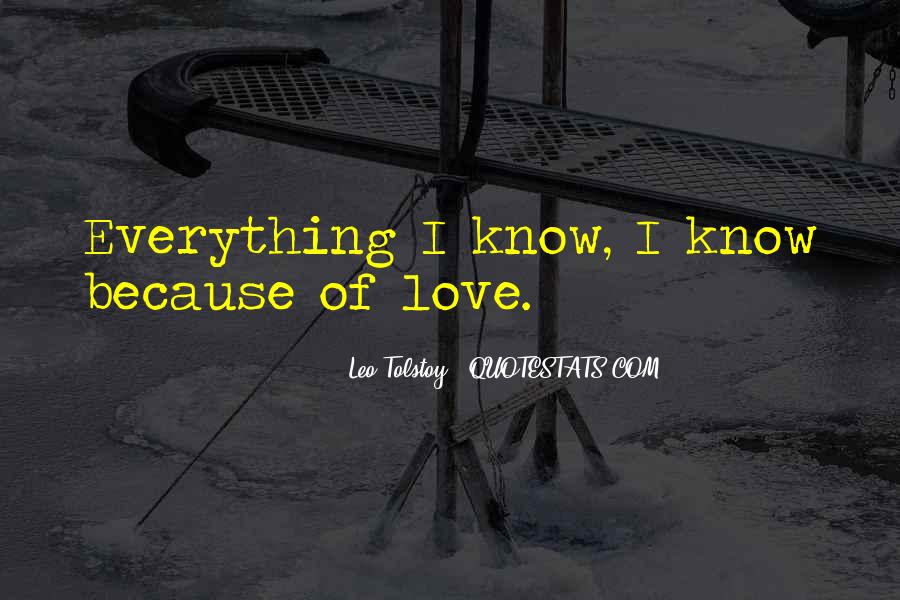 Love Because Quotes #697