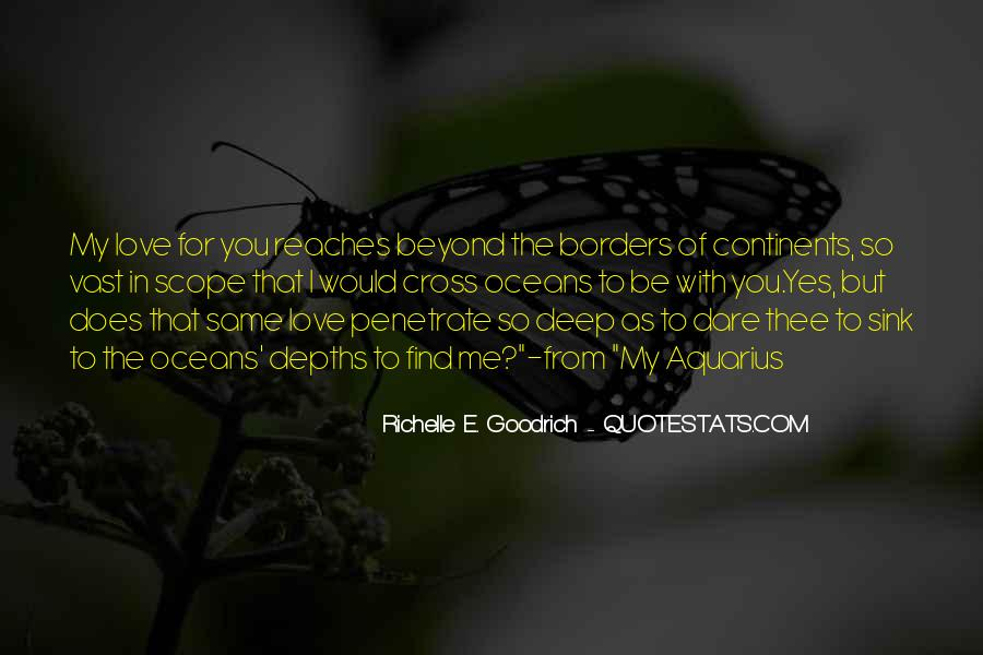 Love Beyond Borders Quotes #1376160
