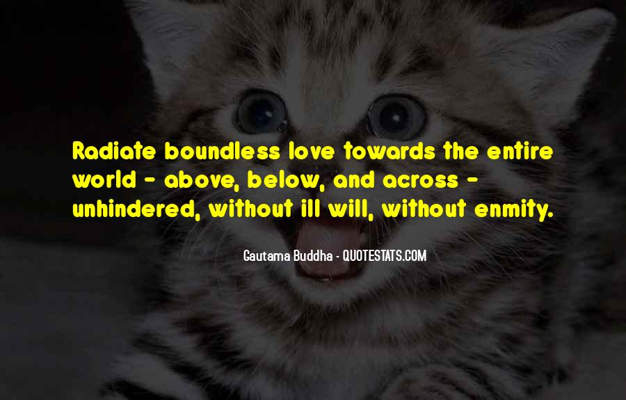 Love Boundless Quotes #1344429