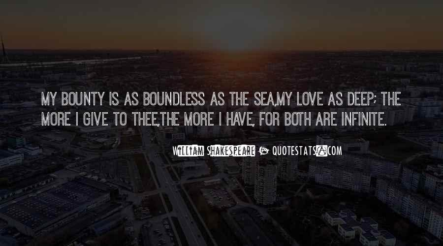 Love Boundless Quotes #1608418