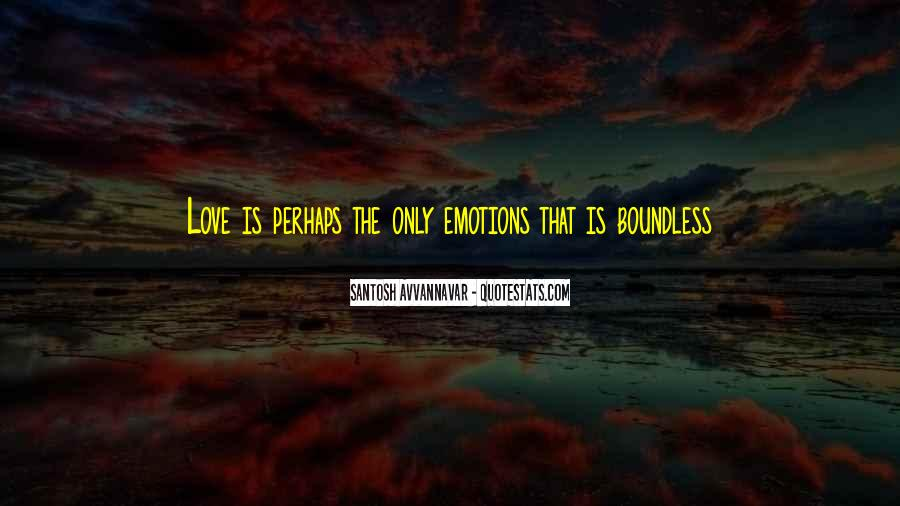 Love Boundless Quotes #558687