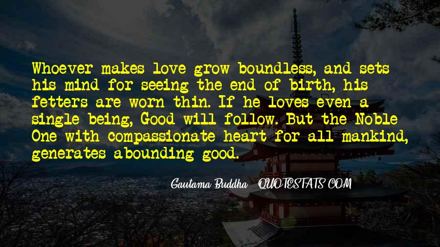 Love Boundless Quotes #715229