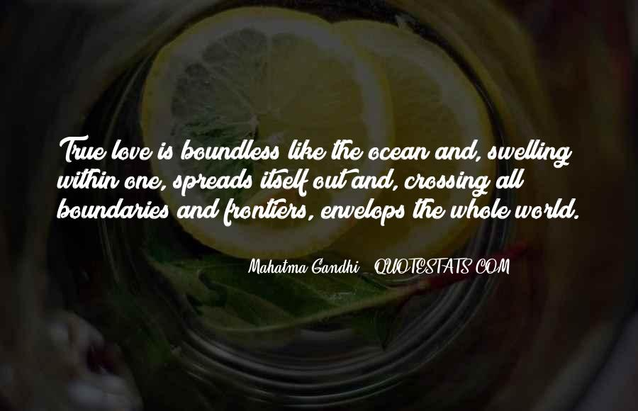 Love Boundless Quotes #720144
