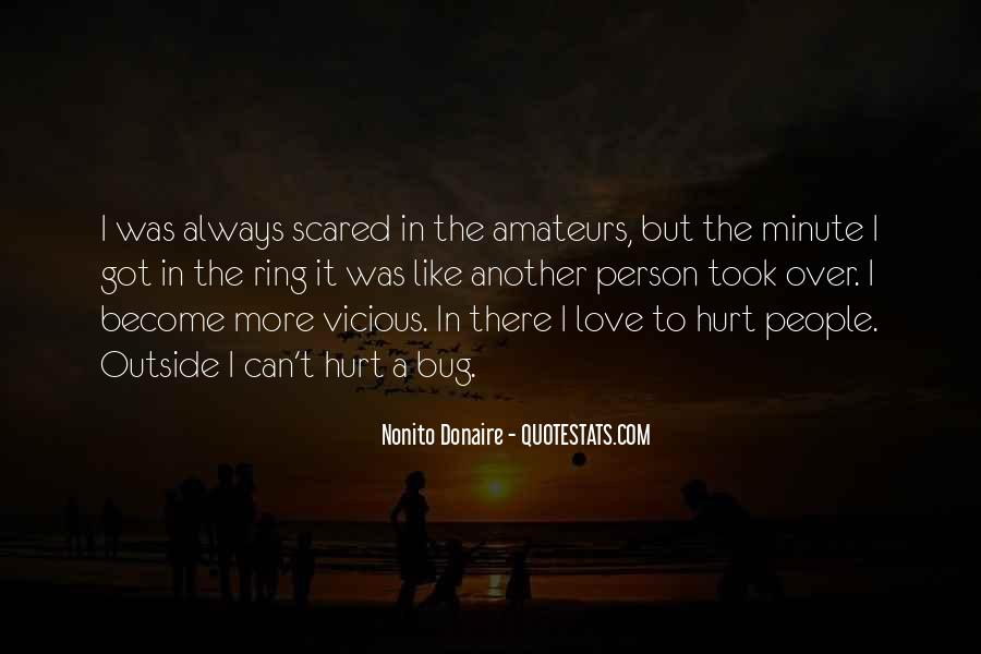 Love But Scared Quotes #1059404