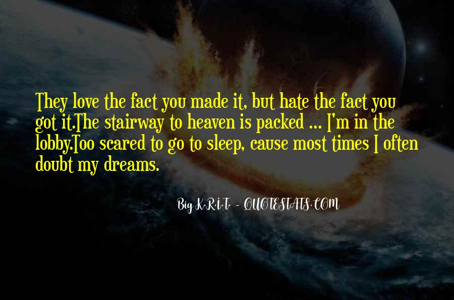 Love But Scared Quotes #1653603