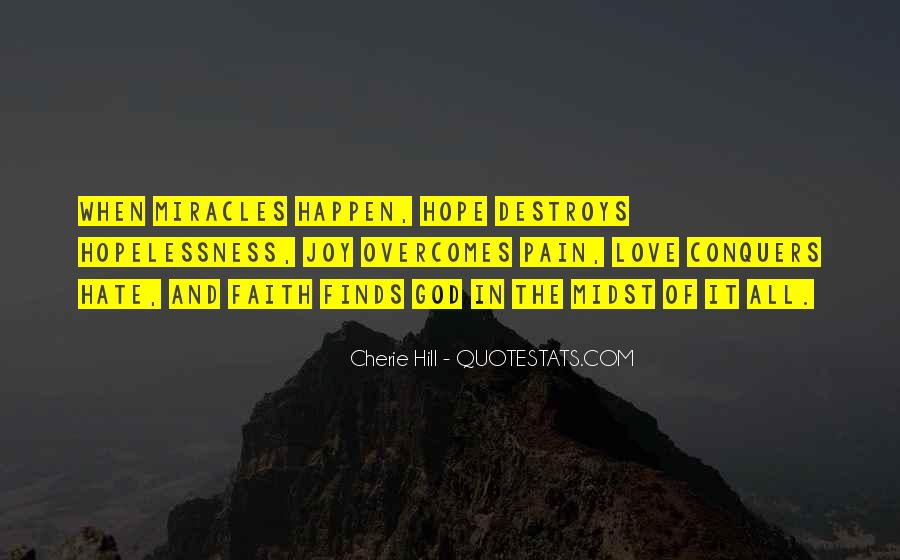 Love Can Happen Quotes #167416