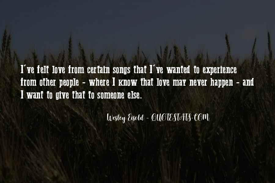 Love Can Happen Quotes #195003
