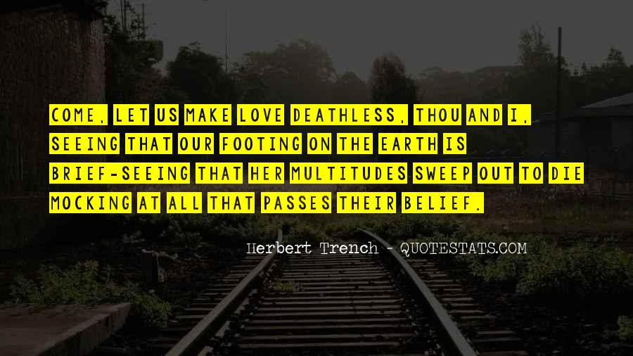 Love Can Make Everything Possible Quotes #33754