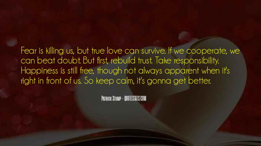 Love Can Survive Quotes #1152255