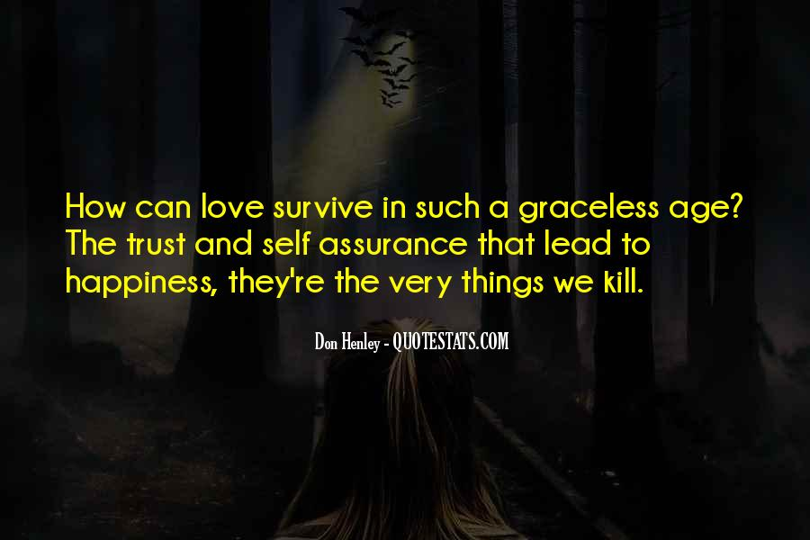 Love Can Survive Quotes #40071