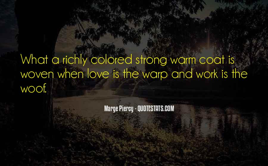 Love Coat Quotes #1061303
