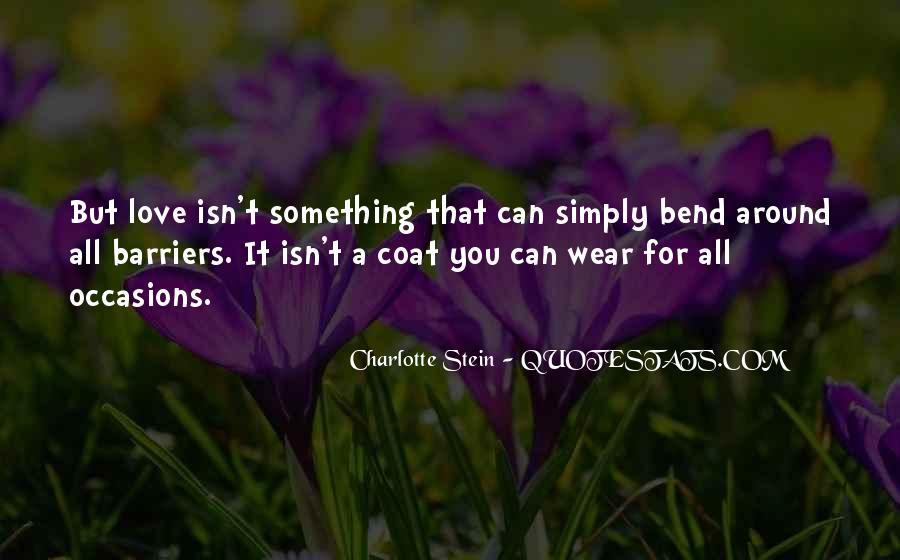 Love Coat Quotes #1211992