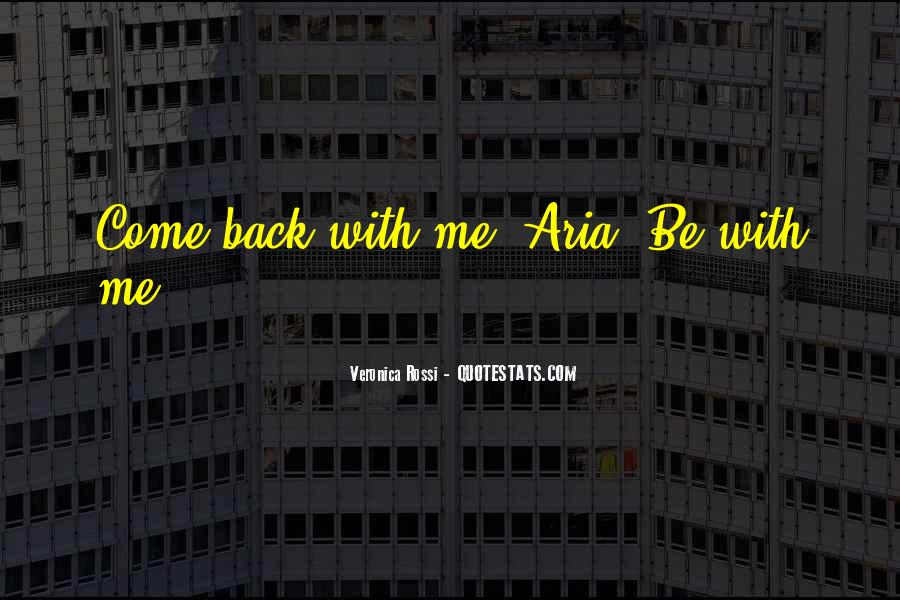 Love Come Back Quotes #189918