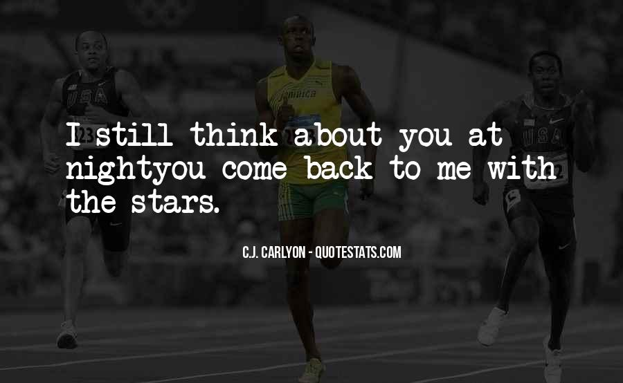 Love Come Back Quotes #493133