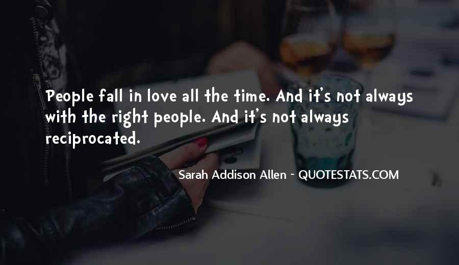 Love Comes At The Right Time Quotes #50845