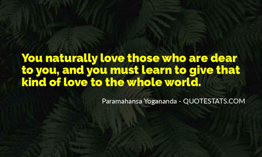 Love Comes Naturally Quotes #310139