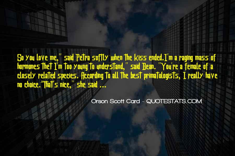 Love Comes Softly Quotes #109116