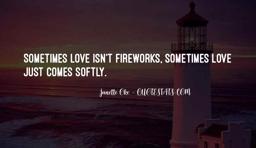 Love Comes Softly Quotes #814617