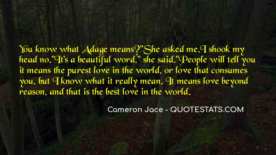 Love Consumes Me Quotes #1097825