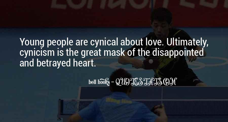 Love Cynicism Quotes #357296