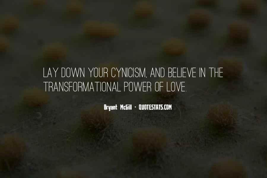 Love Cynicism Quotes #561336