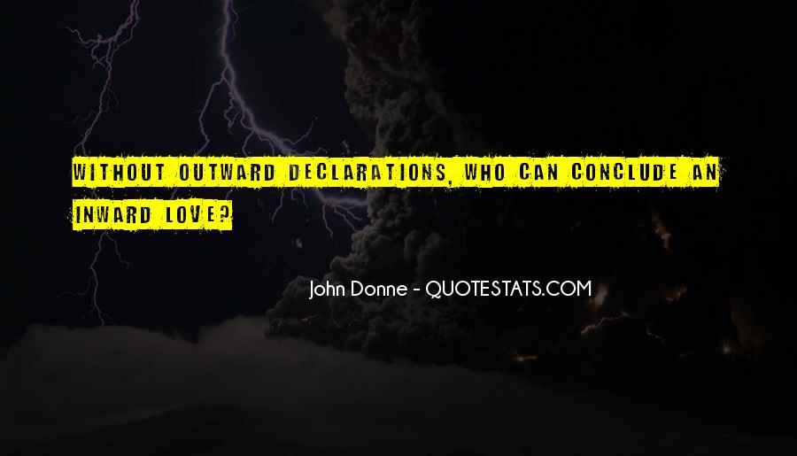 Love Declarations Quotes #1384914