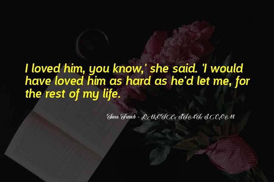 Love Declarations Quotes #1648606