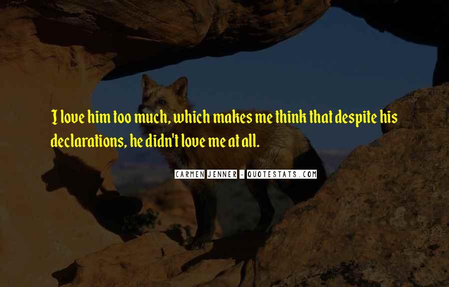 Love Declarations Quotes #715980