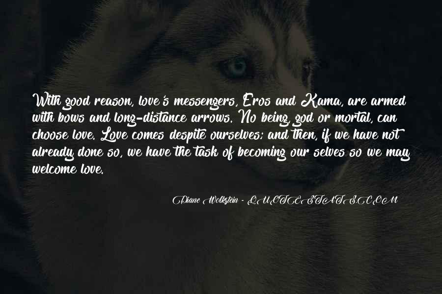 Love Despite The Distance Quotes #1246720