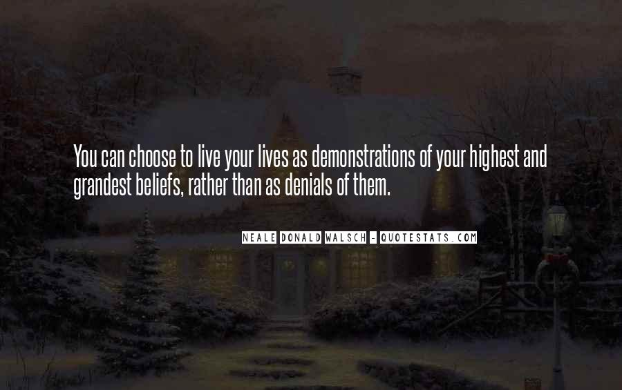 Quotes About Denials #17967