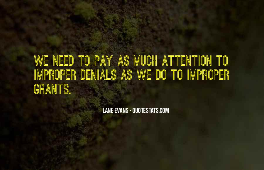 Quotes About Denials #1857830