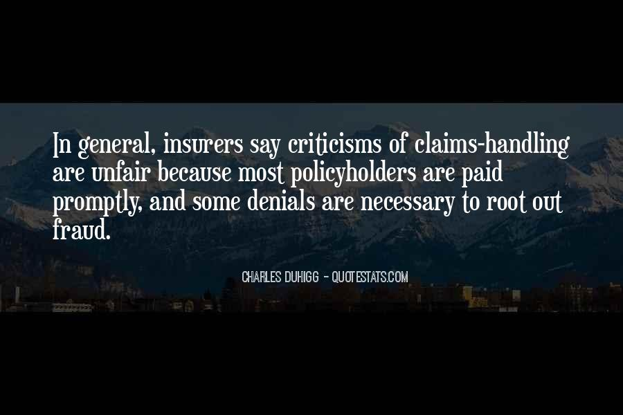 Quotes About Denials #217849