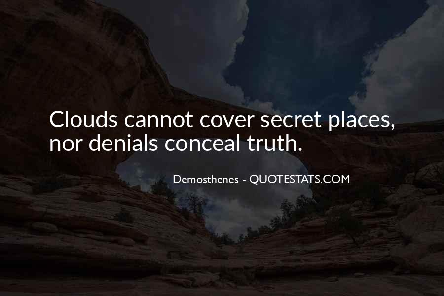 Quotes About Denials #56597