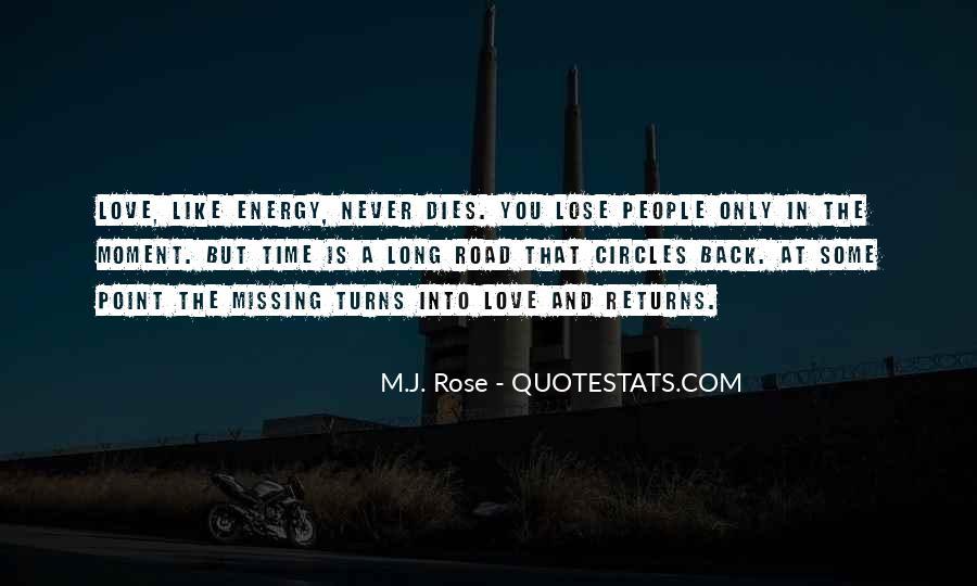 Love Dies Quotes #13014