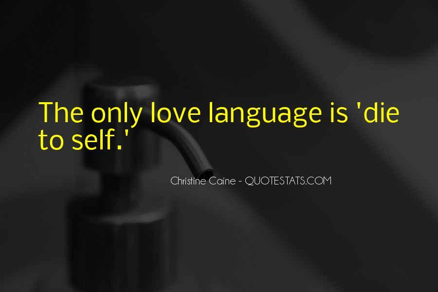 Love Dies Quotes #179741