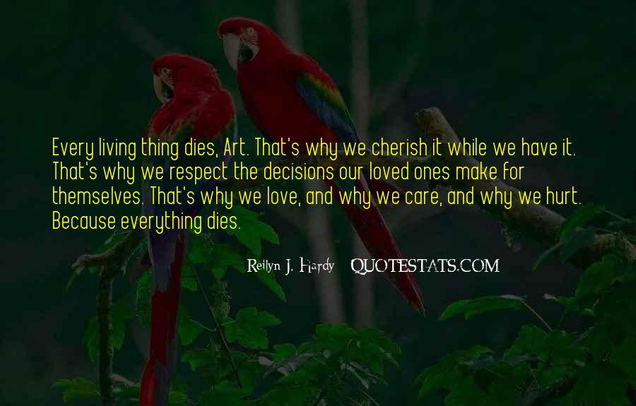 Love Dies Quotes #250361