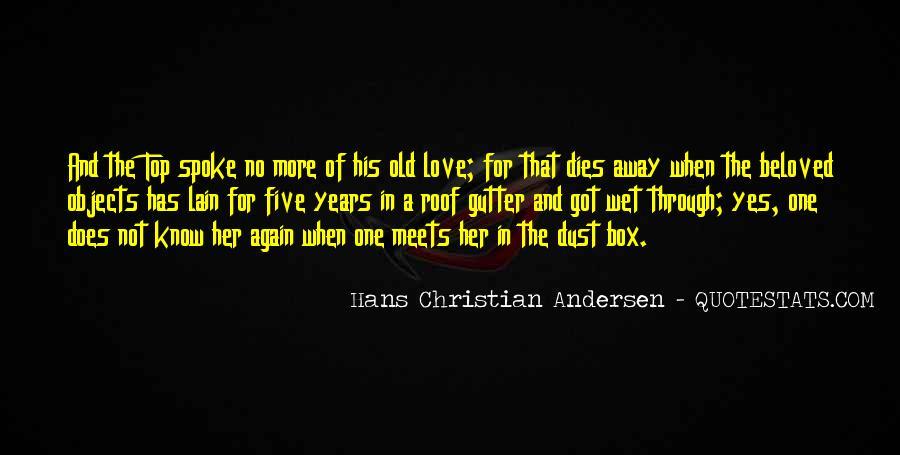 Love Dies Quotes #266787