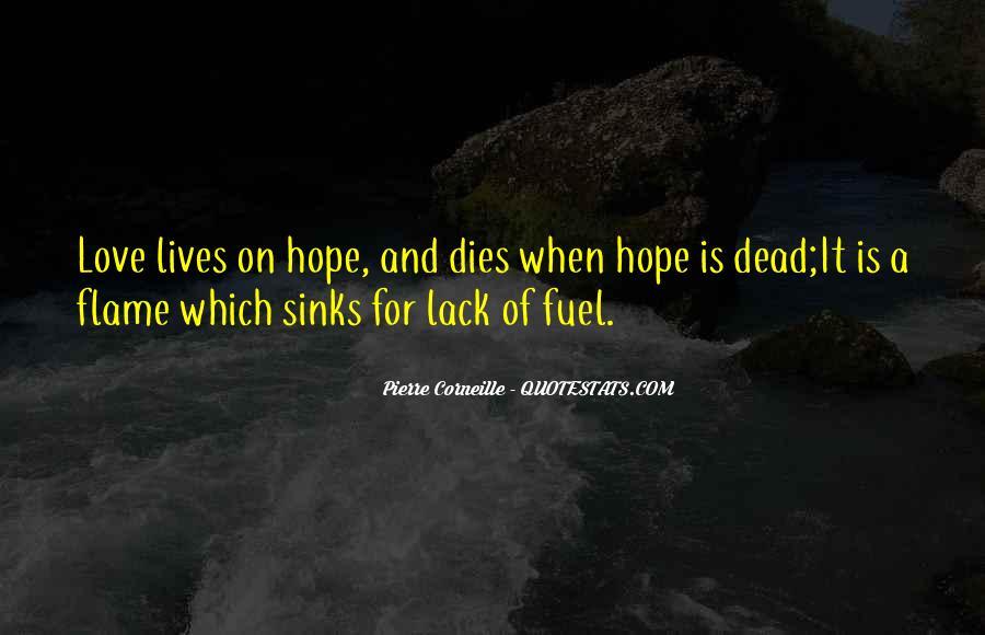 Love Dies Quotes #427493