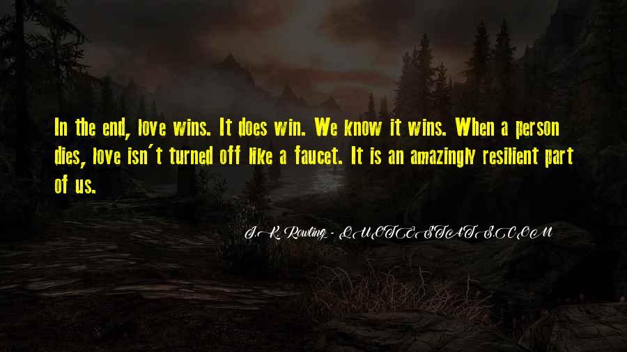 Love Dies Quotes #451501
