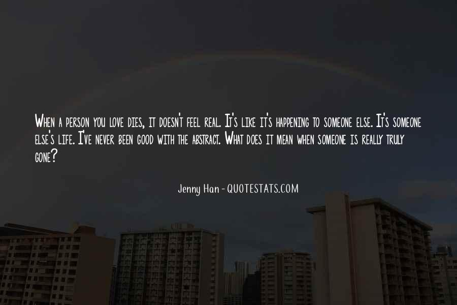 Love Dies Quotes #524438