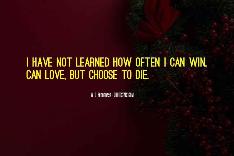 Love Dies Quotes #611677