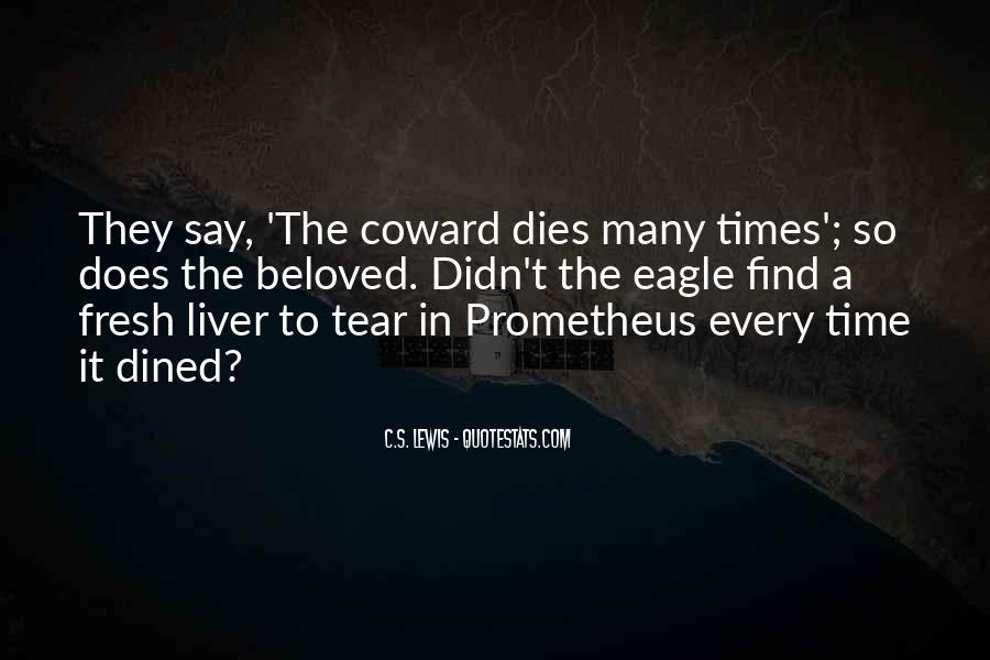 Love Dies Quotes #684306