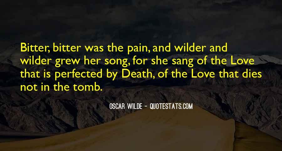 Love Dies Quotes #69153