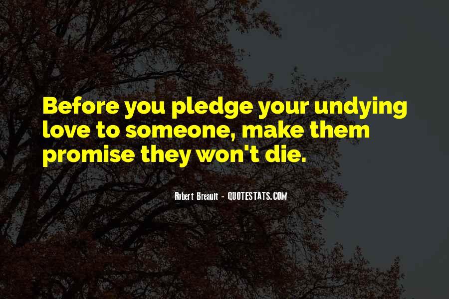 Love Dies Quotes #74159