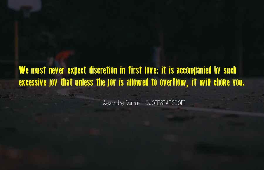 Love Discretion Quotes #1579132