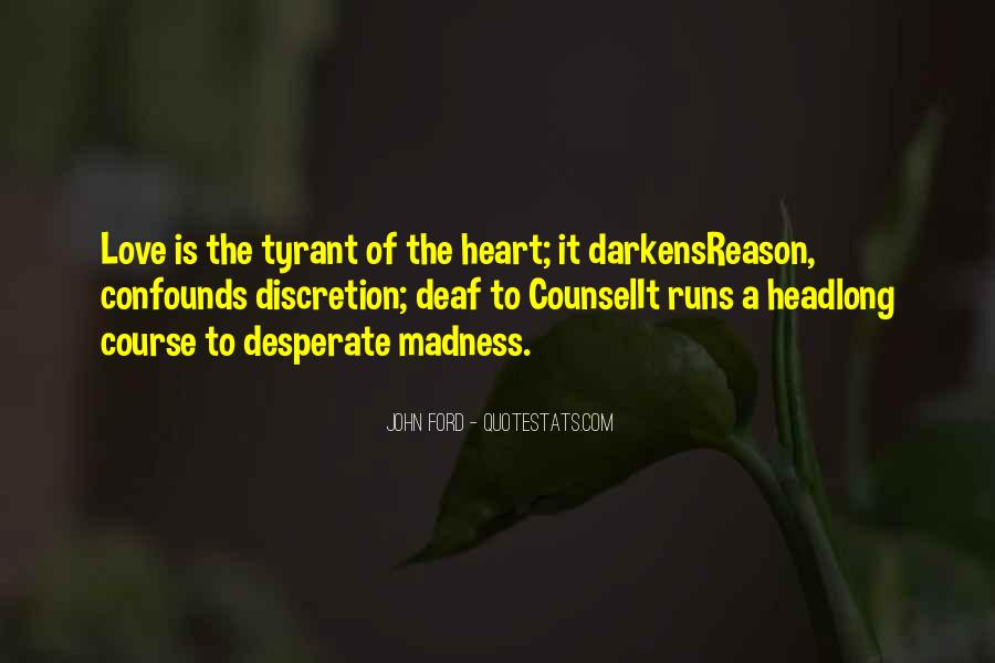 Love Discretion Quotes #1679106