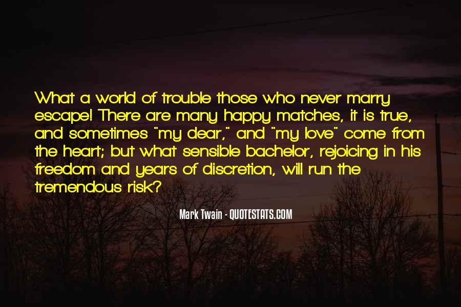 Love Discretion Quotes #1810384